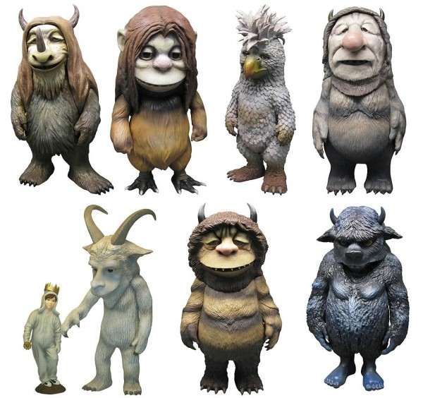 where the wild things are figures 600x564
