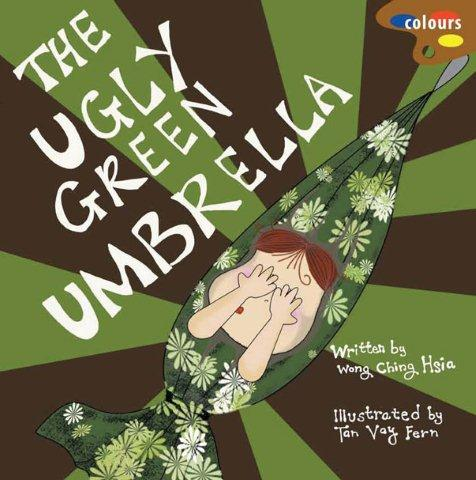 The ugly green umbrella cover